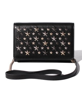 【JIMMYCHOO】LEATHER W/MULTI METAL STARS