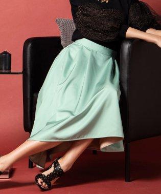【洗濯機可】【3サイズ展開】バイカラーリバーシブルスカート