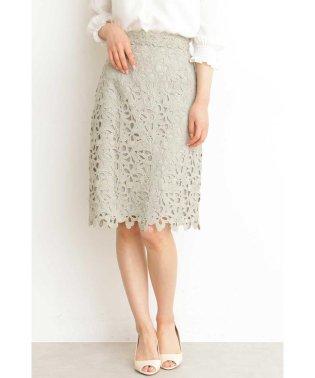 ◆リボンケミカルタイトスカート
