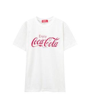 LOVE-T コカ・コーラプリントTシャツ 88744NM