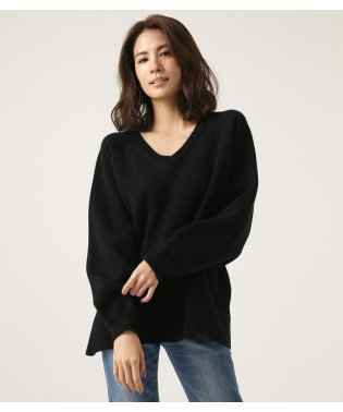 SWEATTER V/N LOOSE TOPS