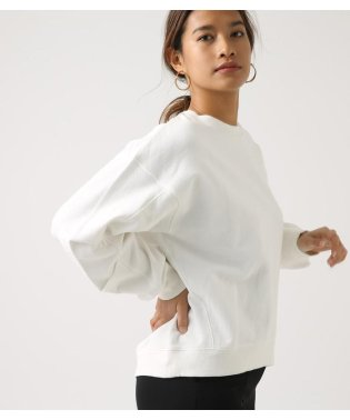 SLEEVE TUCK SWEAT TOPS