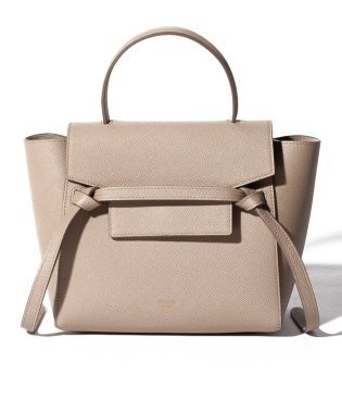 【CELINE】2WAYハンドバッグ/NANO BELT BAG【LIGHT TAUPE】