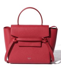 【CELINE】2WAYハンドバッグ/NANO BELT BAG【RED】