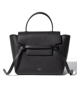 【CELINE】2WAYハンドバッグ/NANO BELT BAG【BLACK】