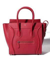 【CELINE】2WAYハンドバッグ/MICRO LUGGAGE【RED】
