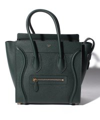 【CELINE】2WAYハンドバッグ/MICRO LUGGAGE【AMAZONE GREEN DARK】