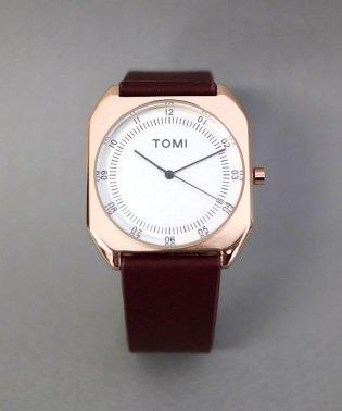 【TOMI】 スクエアウォッチ / ユニセックス腕時計 レディース