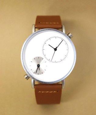 【TOMI】 ダブルフェイスウォッチ / ユニセックス腕時計 レディース
