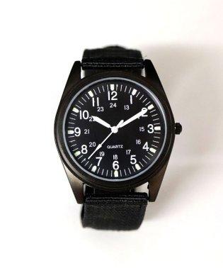 【蓄光】 ミリタリーウォッチ / ユニセックス腕時計 レディース