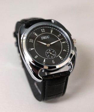 【DIGU】 ボリュームデザインウォッチ / ユニセックス腕時計  レディース