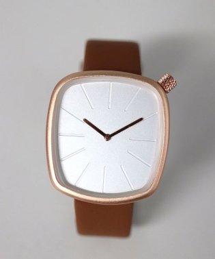 シンプルスクエア アナログウォッチ / レディース腕時計