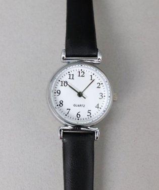 【レトロ】 シンプル アナログウォッチ / レディース腕時計