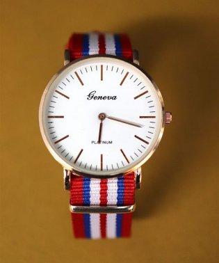 【geneva】 NATOベルト シンプルウォッチ / ユニセックス腕時計