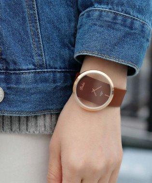 【シースルー】 シンプル アナログウォッチ / レディース腕時計