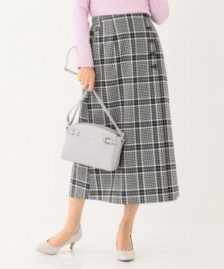 【洗える】T/Rチェックアソート スカート