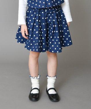 ドット柄キュロットスカート(90~150cm)