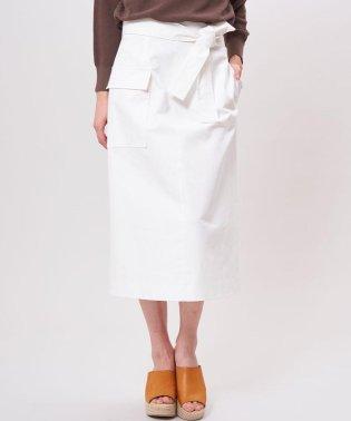 ビッグポケット付きタイトスカート