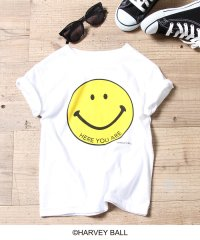 【ママとお揃い・coen キッズ / ジュニア】スマイルプリントTシャツ