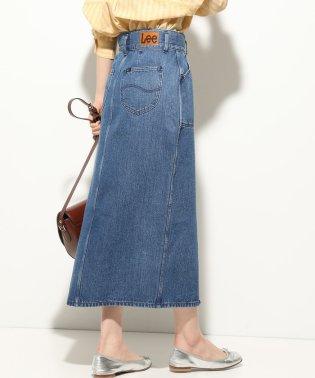 【一部店舗限定】【Lee×ViS】デニムタイトロングスカート