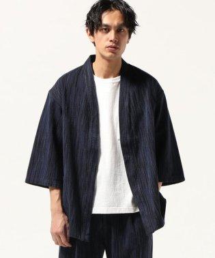 KASURI-SASHICO KIMONO COAT