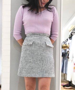 スプリングツイードスカート