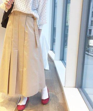 アシメプリーツマキシスカート