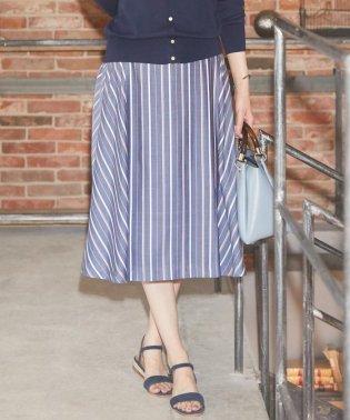 【WEB限定色あり】プロビスストライプ スカート
