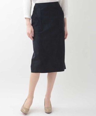 スエードライクIラインスカート