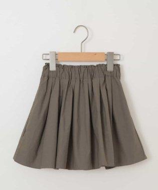 [140-150]インナーパンツ付きカラーギャザースカート