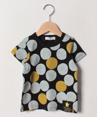 【セットアップ対応商品】ドット柄半袖Tシャツ