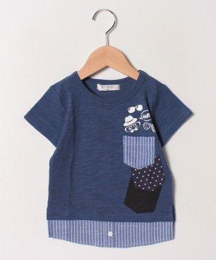 レイヤード半袖Tシャツ