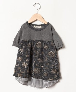 きらきら切替半袖Tシャツ