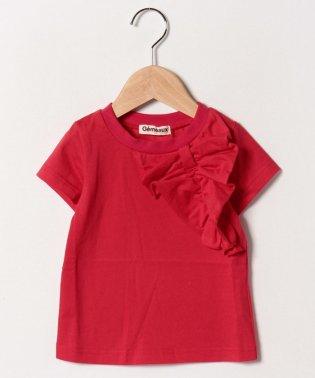 フリルリボン半袖Tシャツ