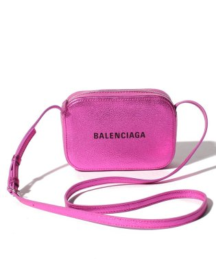 【BALENCIAGA】ショルダーバッグ/EVERYDAY CAMERA BAG XS METALLI【CYCLAMEN】