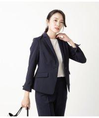 【セットアップ対応商品】【ウォッシャブル】プルエラストレッチラチネ 1釦テーラードジャケット