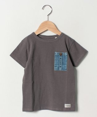 DENIM POCKET  T