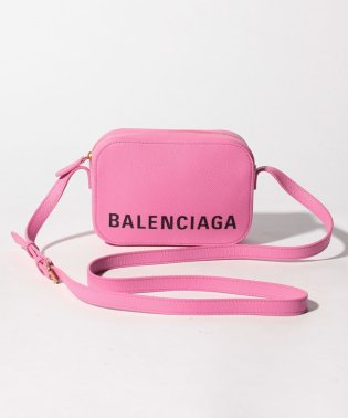 【BALENCIAGA】ショルダーバッグ/VILLE CAMERA BAG XS【CYCLAMEN】