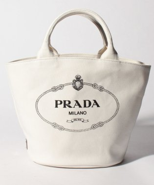 【PRADA】ショルダー付きトートバッグ/CANAPA【BIANCO】