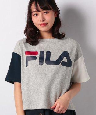 【FILA】スウエット裏メッシュ半袖Tシャツ