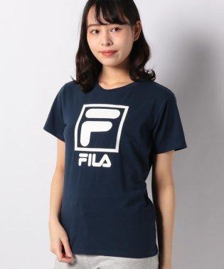 【FILA】T/C天竺 F-BOX半袖Tシャツ