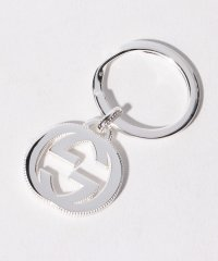 【GUCCI】INTERLCKG KEYRING SLV