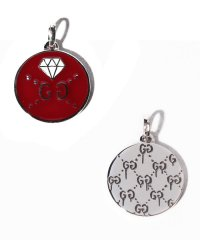 【GUCCI】CHARM DIAMOND SLV&ENAMEL