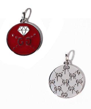 【GUCCI】CHARM DIAMOND SLV&ENAMEL
