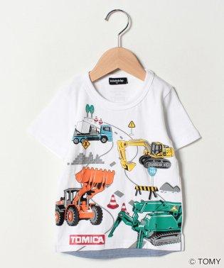 トミカ働く車集合半袖Tシャツ