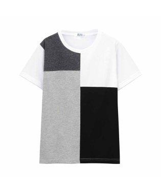 RUSH HOUR ボーイズ ブロッキングTシャツ EJ193-KB087