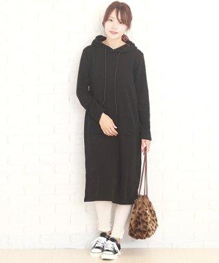 裏起毛ワンピース 韓国 ファッション レディース かわいい あったかい 秋冬用 カジュアル【A/W】【vl-5325】