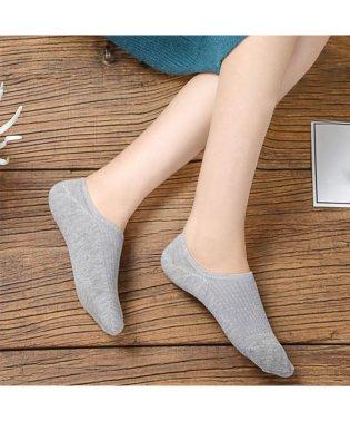 靴下 レディース 滑りにくい ソックス 浅履き フットカバー 無地 インソックス 婦人