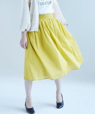 【Gigi】綿ローンギャザースカート