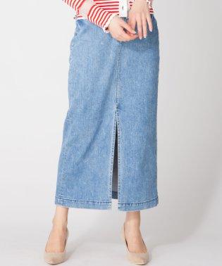 【YANUK/Slit Long Skirt】スリットロングタイトスカート